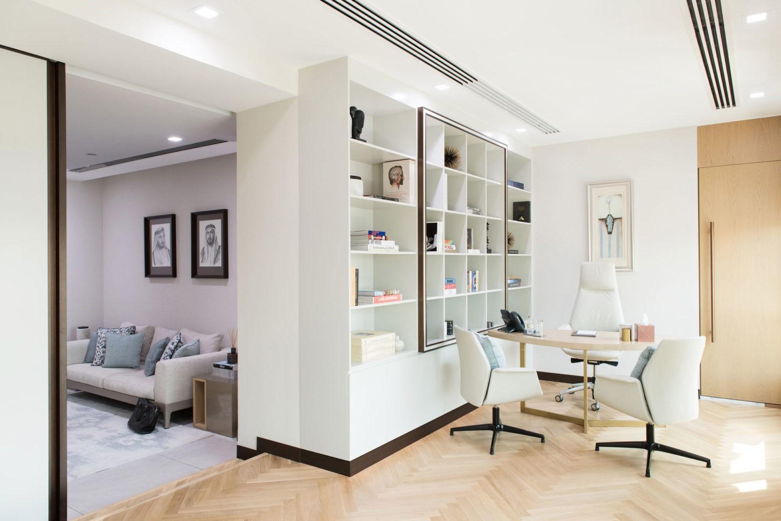Dubai Holding Chairman Office - Sneha Divias Atelier