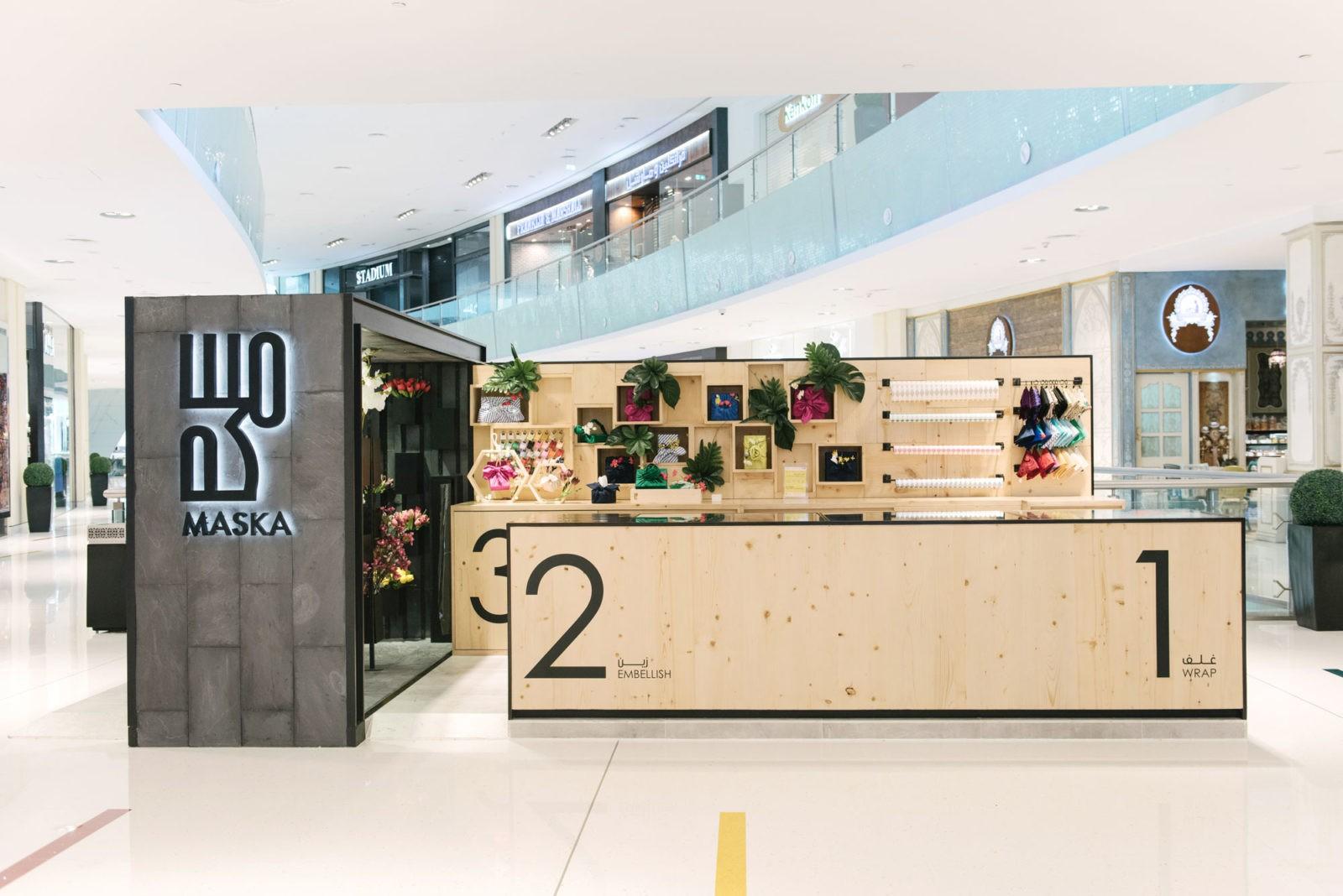 Maska Wraps Dubai Mall - Sneha Divias Atelier
